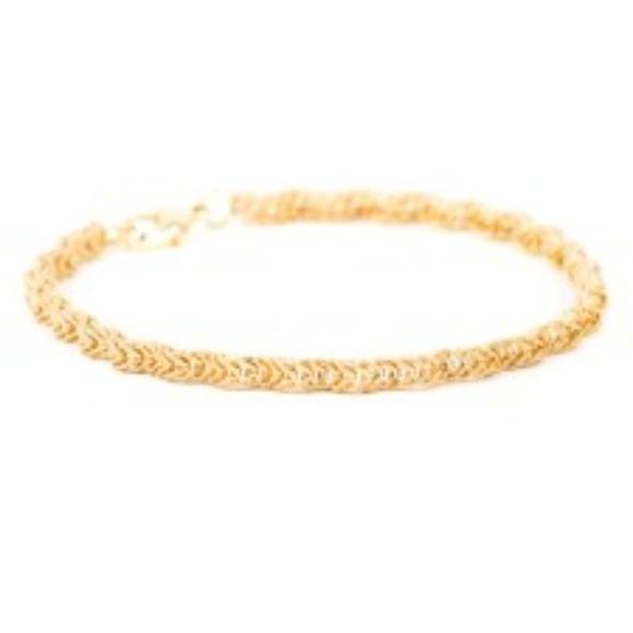 The Royal Standard Jewelry The Royal Standard Jenna Bracelet Gold